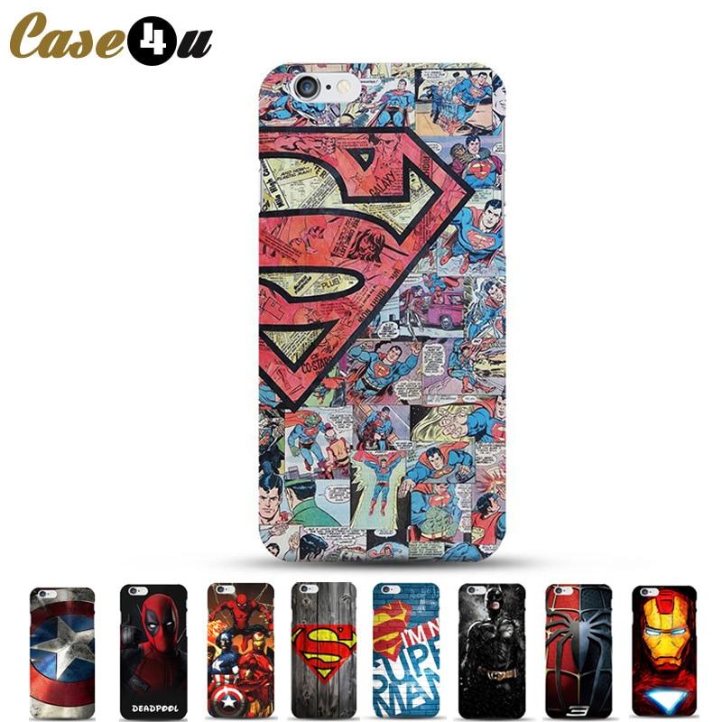 coque superman iphone 8