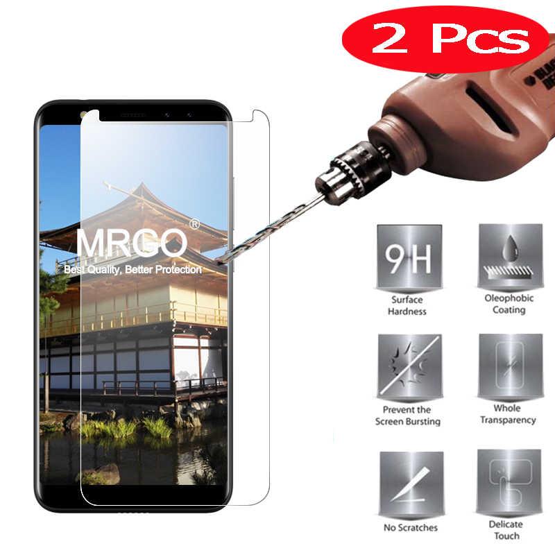 2 יחידות MRGO מזג זכוכית עבור Leagoo M9 על מגן מסך זכוכית מחוסמת עבור Leagoo סרט טלפון על M9 M9