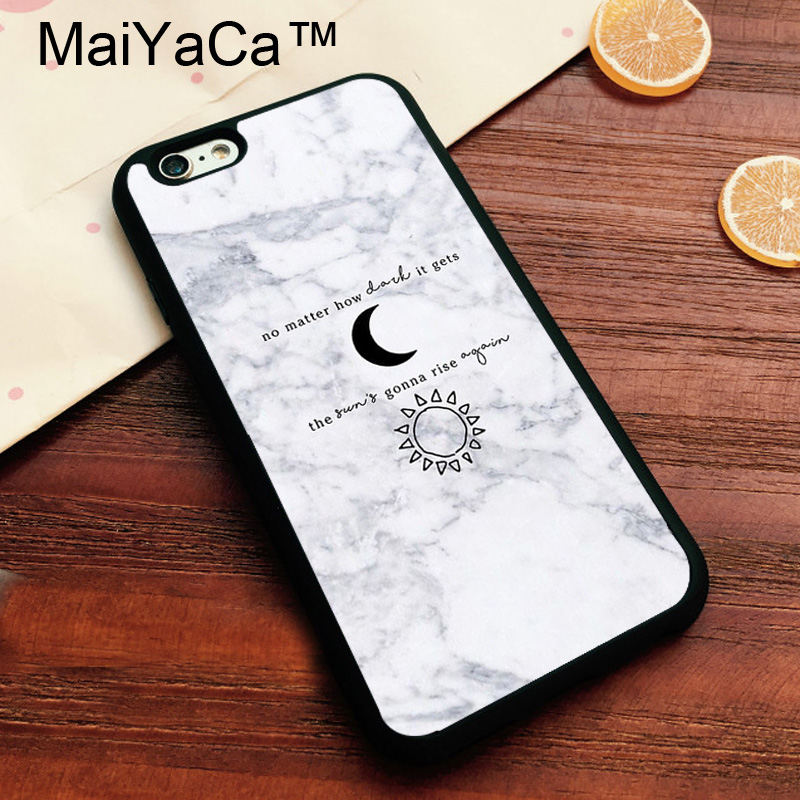 MaiYaCa Greys anatomy Quotes Marble Soft TPU Skin for Apple iPhone 7 ...