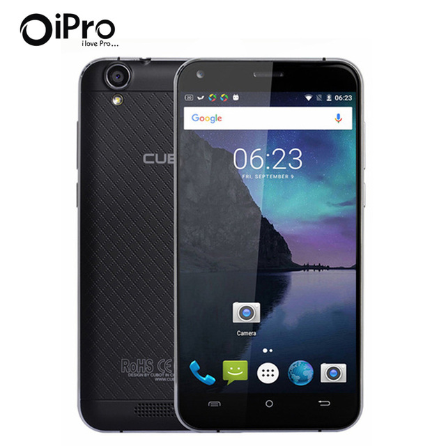 Manito Cubot 5.0 Pulgadas HD de Pantalla Smartphone Celular Android 6.0 Quad Core Teléfono Celular 3 GB RAM + 16 GB ROM Abrió El Teléfono Móvil