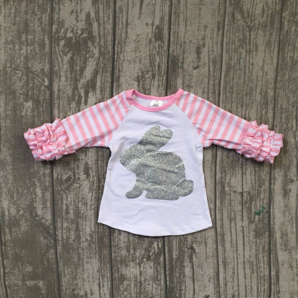 baby girls boutique raglans clothes girls easter bunny