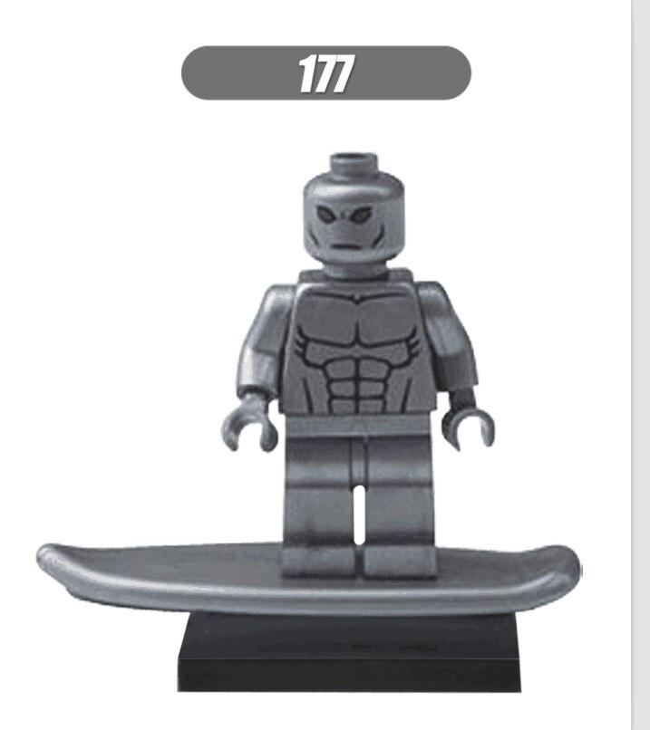 Super Heroes Ultron Silver Surfer Deadpool Superman Robin Batman Bricks Building Blocks Best Education Toys For Children XH 177