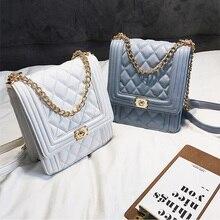 Роскошные сумки женские дизайнерские винтажные сумки через плечо с цепочкой вечерние клатчи женские сумки через плечо для женщин 2019 bolsos mujer