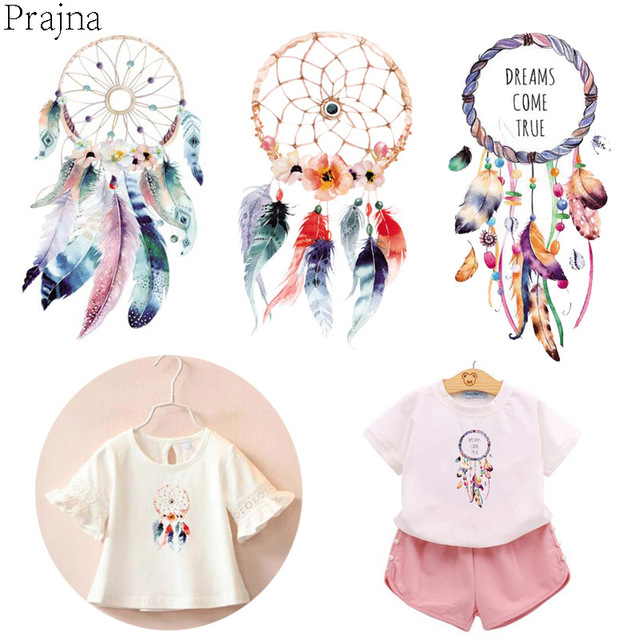 Prajna heat transfer vinyl decal patches iron on transfer for clothes kids cartoon patch thermal transfers