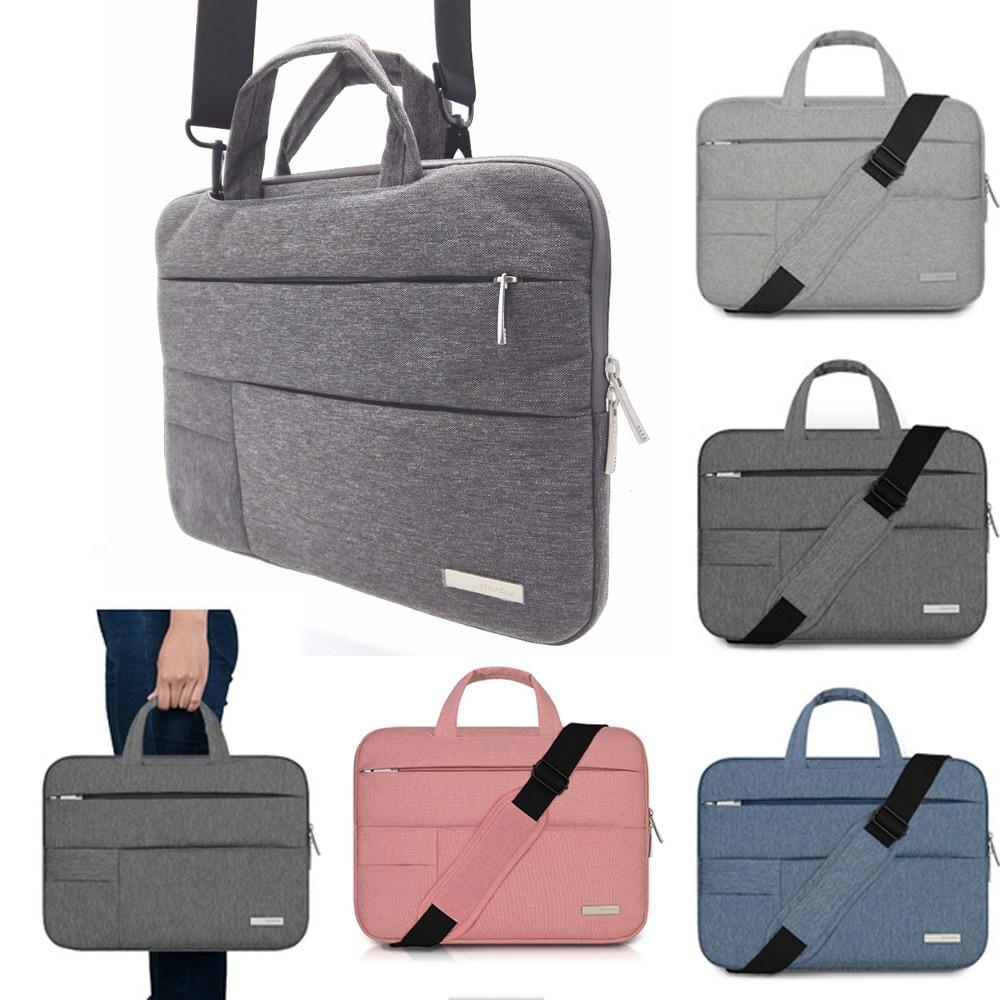 "13.3/"" 15.6/"" Laptop Shoulder Bag Slim Cover Case For Macbook HP DELL Notebook PC"