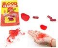 6 Unids/lote Vomitando Sangre Cápsulas Fake Blood Píldora Vampiro de Disfraces de Halloween y el Día de los Inocentes Broma Broma Horror juguetes