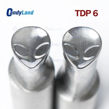 CandyLand TDP6 Alien Milk Tablet Die Punch Press Mold Sugar Tablet Stamper Customized Design Tablet Press Stamps For TDP Machine
