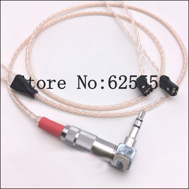 1.2M Viborg OCC Copper headphone upgrade Cable for UE 5pro sf3 TF10 TF15