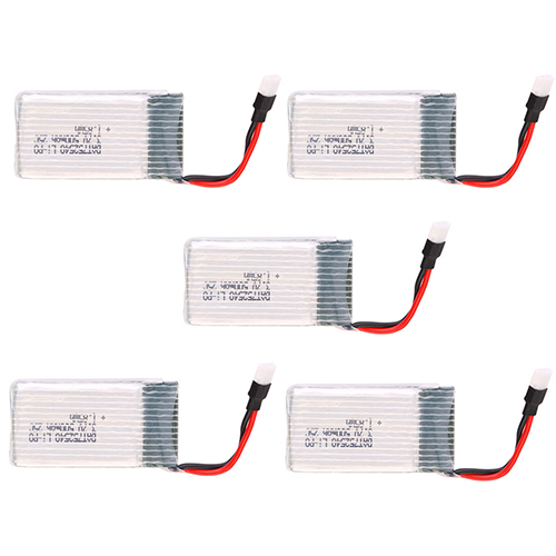 Image 5 - 3.7V 500mAh 25C Lipo Battery Spare Parts for Syma X5 X5C H5C X5SC X5A RC Quadcopter  92M6-in Parts & Accessories from Toys & Hobbies