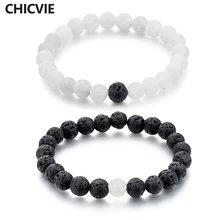 Chicvie Новый брендовый дизайнерский роскошный браслет из натурального