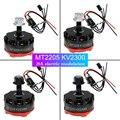 4 UNIDS MT2205 2205 RC 2300KV Motor de Refrigeración con 4 UNIDS FVT Littlebee Blheli 20a ESC OPTO para QAV250 Quadcopter