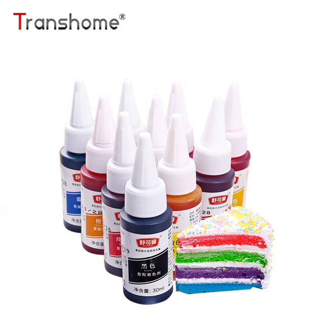 Transhome Food Coloring 6 Colors Available Food Coloring For Fondant ...