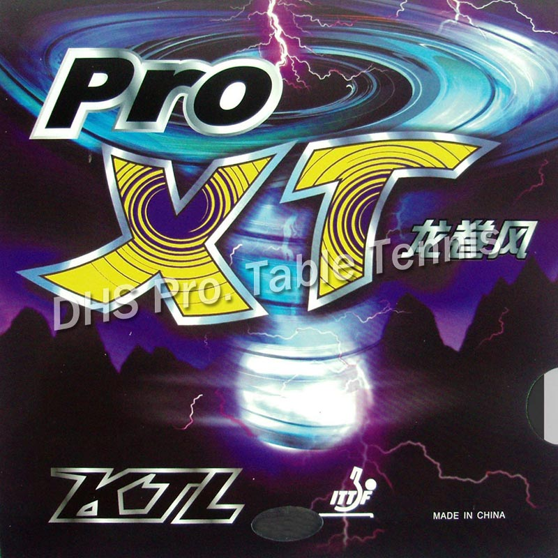 KTL Pro-XT  Pips-In Table Tennis Rubber With Sponge