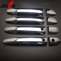 Car Stylish ABS Chrome Exterior Door Handle Cover Trim With Sensor For Mazda CX5 CX 5