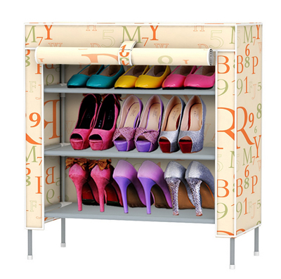 купить  Shoe cabinet  Hanger Non-woven fabrics shoe rack furniture storage shelf for shoes  онлайн