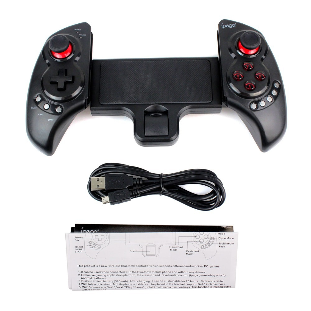 Wholesale android tablet 10 inch - 5 10 Inch Universal Wireless Bluetooth 3 0 Game Controller Gamepad Joystick Telescopic Handle For Iphone