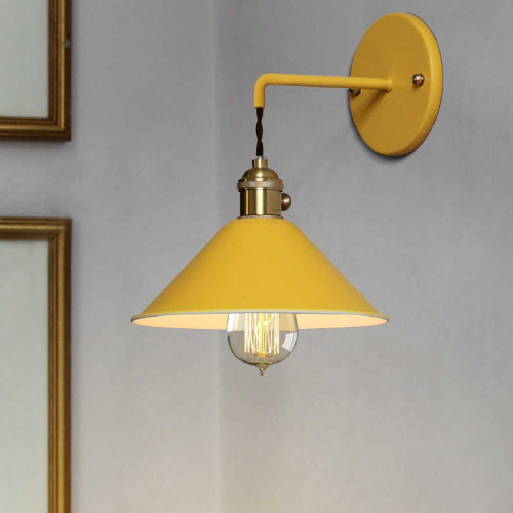 Скандинавский современный настенный светильник, зонтик, украшение ресторана, макароны, лампа для гостиной, спальни, прохода, лестницы, прикроватный домашний декор