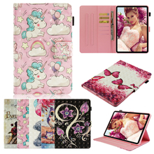 For iPad mini1 mini2 mini3 mini47 Case 3D Lovely Unicorn owl flower PU Leather TPU Stand Wallet Flip Book Cover 2 3