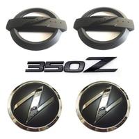 1 Set 5x 3D 350 Z Symbol Car Auto Front Rear Side Body Emblem Badge Stickers