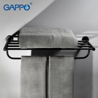 GAPPO Towel Bars bathroom towel holder hanger bath accessories stainless steel towel rack bathroom toalheiro
