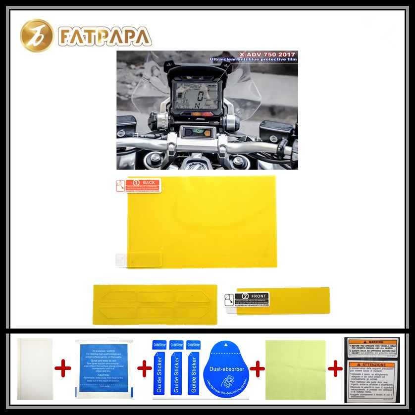 motorcycle Meter Km Table Display screen Blu-Ray Protective film Suitable FOR honda x-adv 750