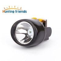 Wireless LED Miner Lamp Waterproof Headlight Hiking Camping Cap Lamp Head Flashlight