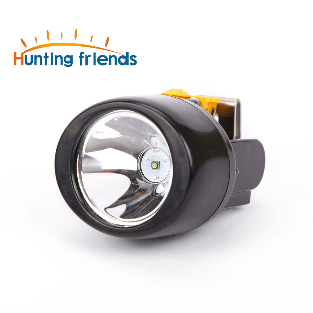 Hunting Friends Wireless Mining Light KL3.0LM Waterproof LED Headlight Explosion Rroof Cap Lamp Rechargeable Mining Headlamp-in Headlamps from Lights & Lighting