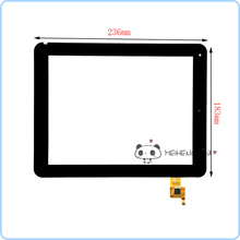 New 9.7 inch Touch Screen Digitizer Glass For Bliss Pad R9733 tablet PC Free shipping
