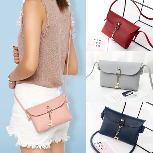 Fashion candy color handbags women new clutcheswith deer ladies party purse women crossbody shoulder messenger bags