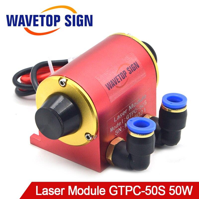 WaveTopSign JiTai GTPC 50 S 50 W Gomito YAG Laser Modulo GTPC-50S 90 Gradi Diodo Laser uso Della Pompa per YAG laser Macchina