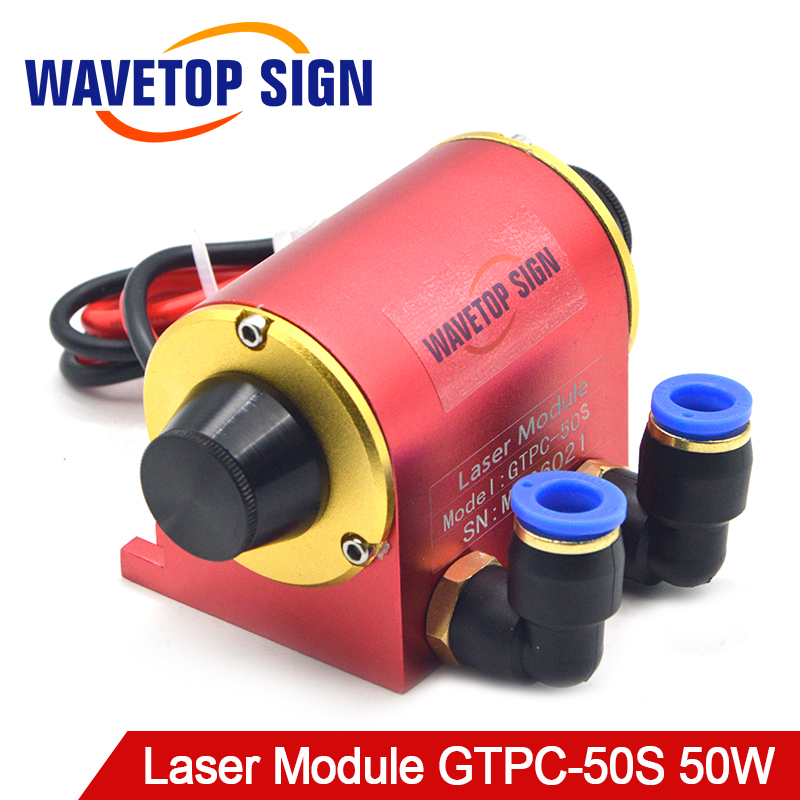 WaveTopSign JiTai YAG Laser Módulo GTPC 50 50 S W Cotovelo GTPC-50S 90 Graus uso Da Bomba de Diodo Laser YAG máquina a laser