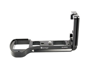 Image 3 - FITTEST LB A6500 Vertical Shoot Quick Release L Plate Bracket Base Holder for Sony ILCE 6500 (A6500) Camera Metal Ballhead DSLR