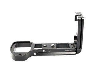 Image 3 - FITTEST LB A6500 Đứng Bắn Nhanh L Plate Chân Đế máy Giá Đỡ cho Sony ILCE 6500 (A6500) camera Kim Loại Ballhead DSLR