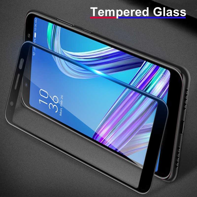 Ultra fino claro vidro temperado para asus zenfone max m1 m2 pro protetor de vidro temperado para zb631kl za550kl zb602kl zc520kl