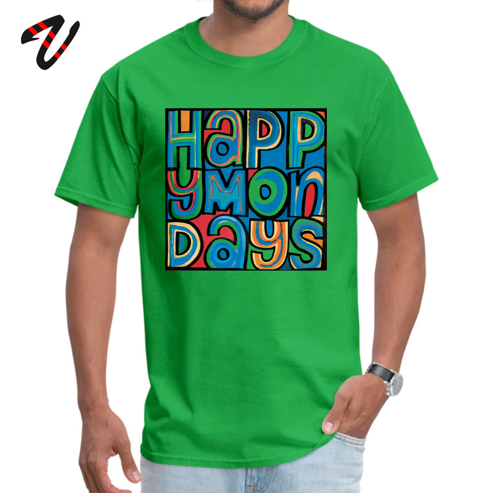 happy mondays Printed On Tops & Tees Grateful Dead for Men Pure Programming Summer Fall