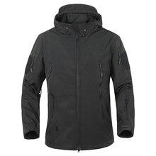 2018 Outdoor Waterproof SoftShell Jacket Hunting windbreaker ski Coat hiking rain camping fishing tactical Clothing Men&Women