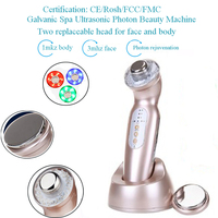 Anti Aging Wrinkle Removal Cellulite Reduction Galvanic Ultrasonic Photon Therapy Skin Care Beauty Device