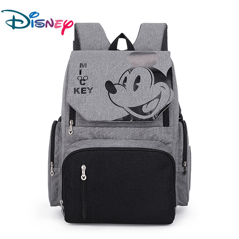 Disney Mickey Mouse Baby Diaper Bag Maternal Stroller Bag Nappy Backpack Maternity Nappy Bag Mommy Travel Bag 2019 New