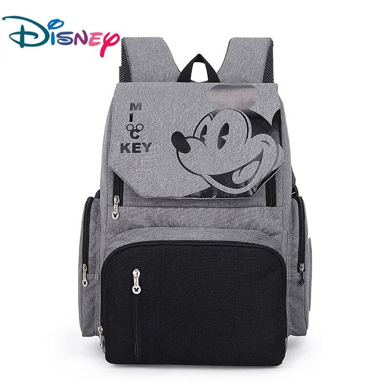 Disney Mickey Mouse sac à langer pour bébé sac de poussette maternelle sac à dos à couches de maternité sac de voyage pour maman 2019 nouveau