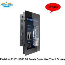 Partaker Z16T All In One PC Touch Screen With 19 Inch 2MM Panel Bay Trail Celeron J1900 Quad Core