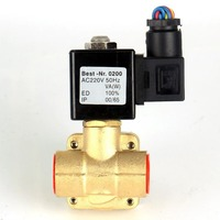 220V 24V 0927 high pressure high temperature normally closed or open solenoid water valve, air compressor valves G1/2 3/4 1