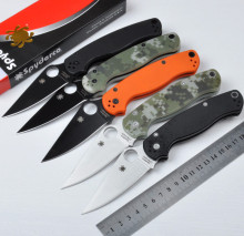 Hot !!! CPM-S30V blade 2 colors 58HRC G10 handle 3 colors camping survival folding outdoor knife tactical knives EDC hand tools