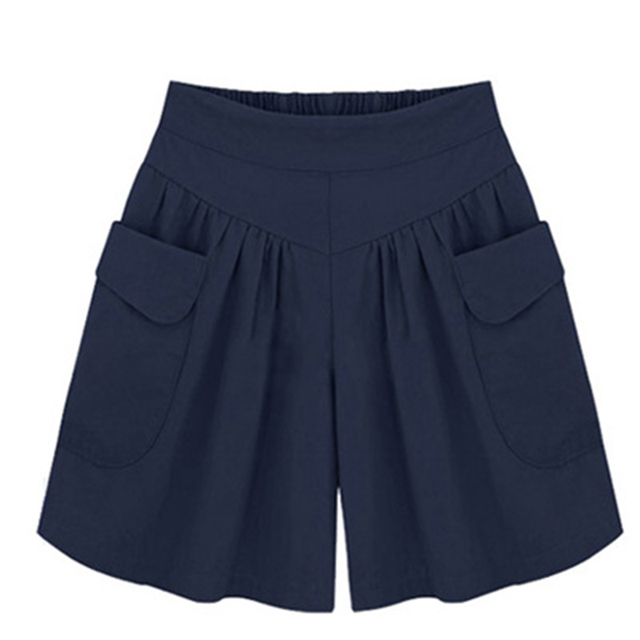 European American New Fashion Summer Womens Casual Shorts Large Size Shorts XL-5XL Comfortable Breathable Shorts 110Kg 4