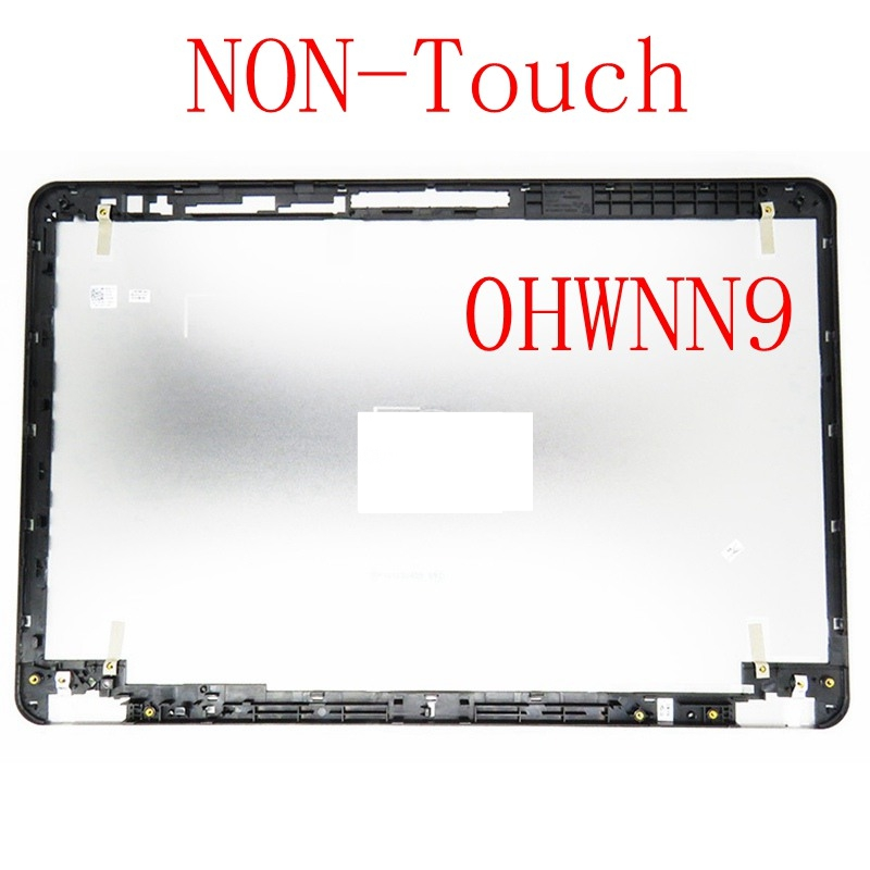 NEW TOP LCD Back Cover case For Dell FOR Inspiron 15-7000 15-7537 15 7537 TOP LCD BACK COVER HWNN9 NON-Touch backlit us new laptop keyboard for dell inspiron 15 7537 7000 p36f 7537 sliver