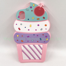 Ice Cream Silicone Phone Cases For Sony Xperia M4 XA X Fundas Cute Cupcake Back Cover For Coque Sony Xperia M4 Aqua Z5 M5 Capa смартфон sony xperia m4 aqua dual 3g e2312 coral