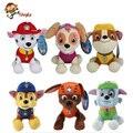 20-30 cm Cão Cão de Patrulha Russo Brinquedos Anime Figuras de Ação Boneca Filhote de cachorro de Brinquedo Do Carro Patrulha Canina Patrulla Juguetes presente para a Criança