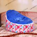 baby bean bag chair with 2pcs ocean blue up cover baby seat cover baby bean bag cover children bean bag chair FREE SHIPPING