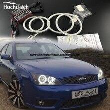 HochiTech ccfl angel eyes kit white 6000k ccfl halo rings headlight for FORD Mondeo MK3 2001 2003 2004 2005 2006 2007