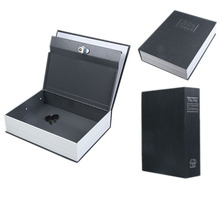 Home Secret Box Book Safe with Key Lock Money Jewelry Safty Collection