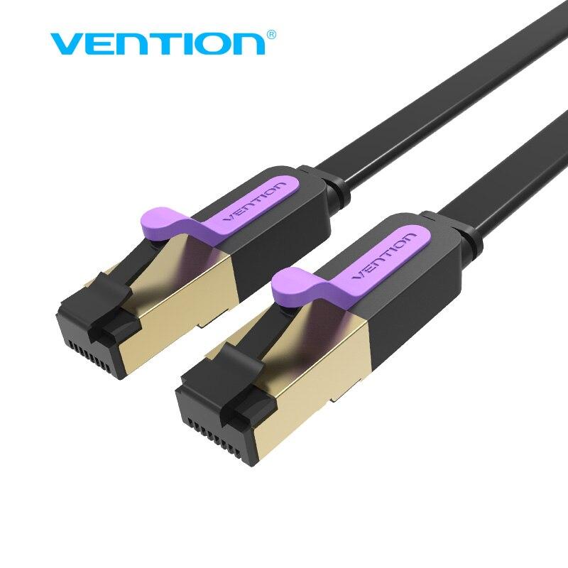 Vention Ethernet Cable RJ45 cat7 Lan Cable SSTP Network Cable 1M 2M 3m 5m 8m 10m 15M Cat 7 patch cord Cable for PC Router Laptop